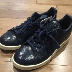 Blue crinkle adidas stan smiths from Italy!
